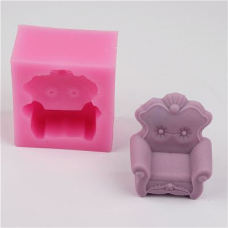 Dependable 3d European Style Sofa Chair Molding Decoration Silicone Mold Cake Mold Chocolate Diy Fondant Baking Tools 100% Brand New Qy61 Home & Garden Arts,crafts & Sewing