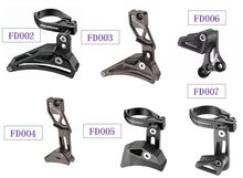 Alloy Fouriers Seattube Clamp Chain Guide For 1*System Aseemble on Front Derailluer Super Light 34.9/31.8mm