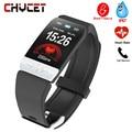 Smart band High-end Fitness Tracker EKG PPG Blut Druck Wasserdicht Heart Rate Monitor Smart Wetter Prognose Smart Armband