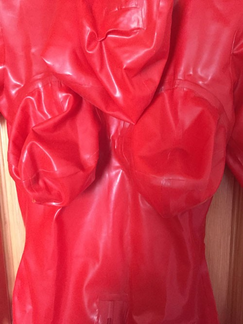 Crazy club_Sexy customize Women Wet Look Sexy Fetish Latex Catsuit With Inflatable Breasts Black Rubber Bodysuits Sale on line 4
