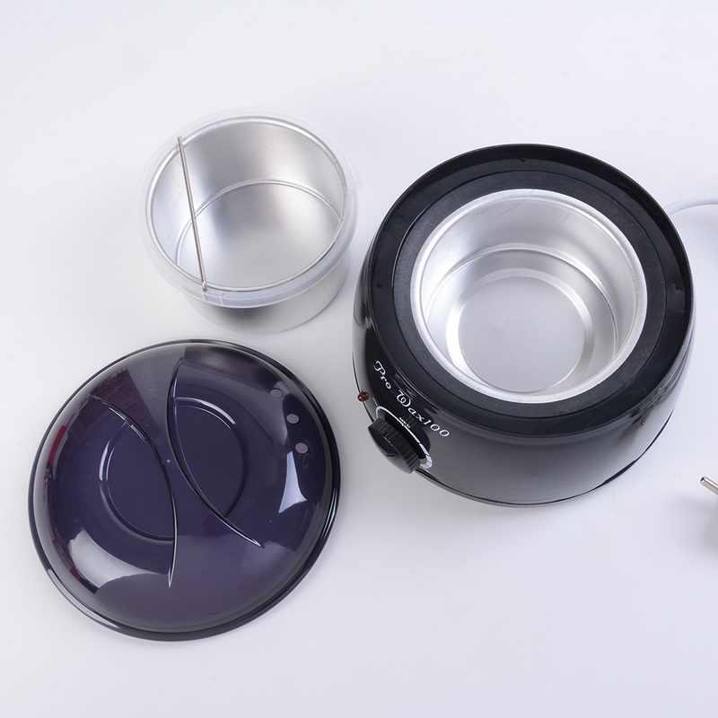 500C Ayak Parafin ağda ısıtıcı Mini SPA El Wax Isıtıcı Epilatör 100W Şarj Edilebilir Makinesi Vücut Tüy Dökücü Epilasyon Aracı