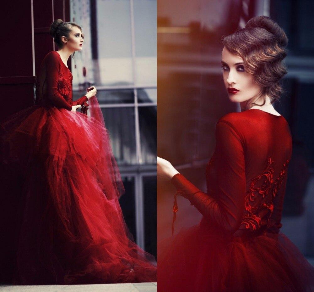 Outstanding Dark Red Wedding Dress Ornament - Wedding Dress Ideas ...