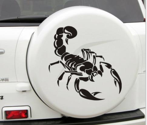 """1 vnt """"Scorpion"""" automobilio animuotasis paveiksliukas"""