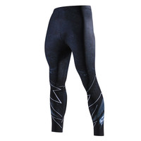 פלאש/ספיידרמן/באטמן סקיני חותלות מכנסיים אצן גברים מכנסי טרנינג לגברים דחיסת כושר זכר 3D גיבור מכנסיים