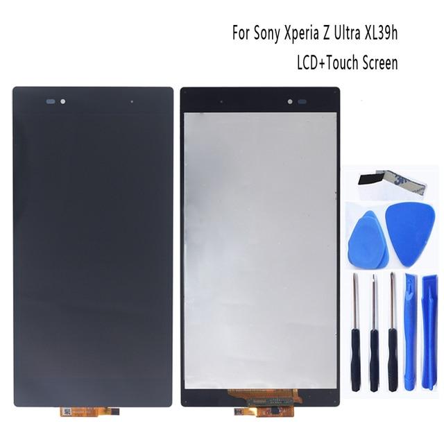 مناسبة لسوني اريكسون Z الترا XL39h XL39 C6833 LCD محول الأرقام بشاشة تعمل بلمس لسوني اريكسون Z الترا مع الإطار + شحن مجاني