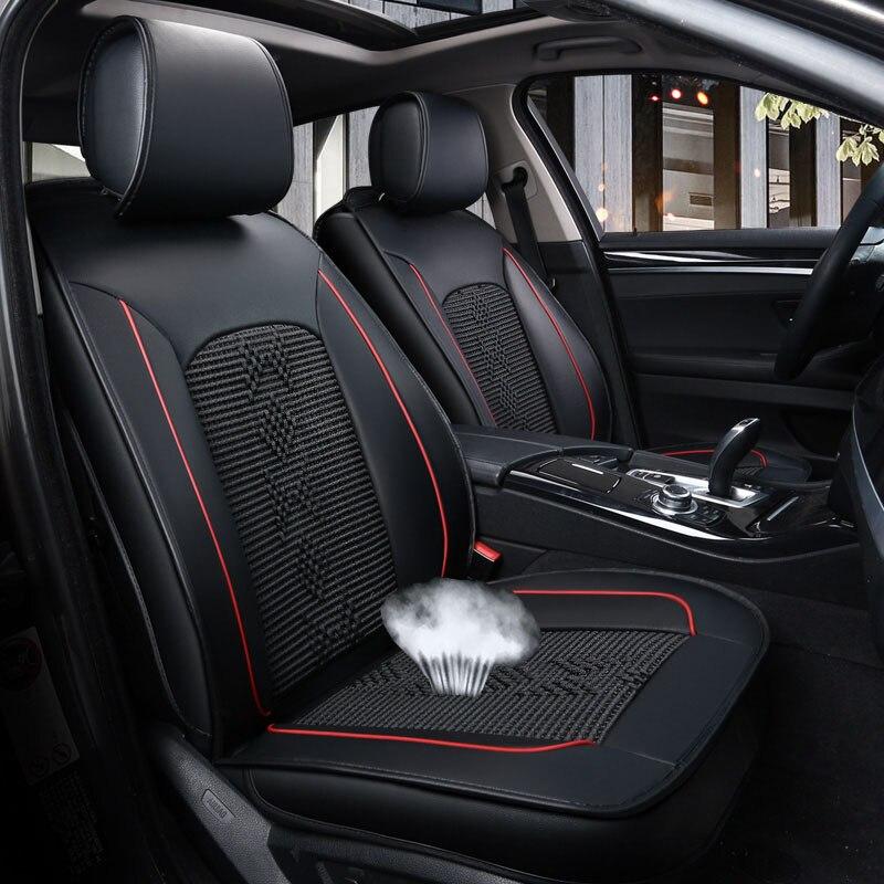RED /& BLACK CLOTH BMW F30//F31 3 SERIES 12 FULL CAR SEAT COVER SET