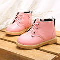 Toddle baby winter boots genuine leather girls martin boots snow boots for girls winter shoes
