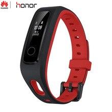 Presale המקורי Huawei Honor להקת 4 ריצה מהדורה חכם צמיד נעל אבזם לנד השפעה שינה הצמד צג