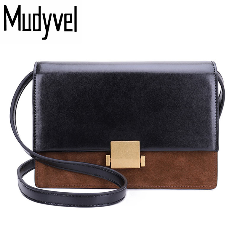 New women bag real cow leather women messenger bags Trendy luxury genuine leather  bolsas feminina crossbody bags for woman yuanyu 2018 new hot free shipping real python leather women clutch women hand caught bag women bag long snake women day clutches