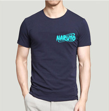 Naruto Night Light Men 100% Cotton O-Neck T Shirt