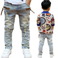 Hot sale High quality 2016 Spring and Autumn kids pants boys baby Stretch joker jeans children jeans free shipping