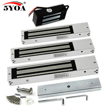 電子ドアロック電気磁気ロックゲートオープナー吸引保持力電磁アクセス制御システムのためさまざまな