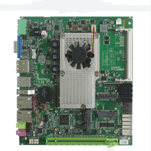 Mini placa base barata compatible con procesador Intel core i3 i5 i7 placa base Industrial incorporada con 4xSATA XP/Win7/Win10 placa base