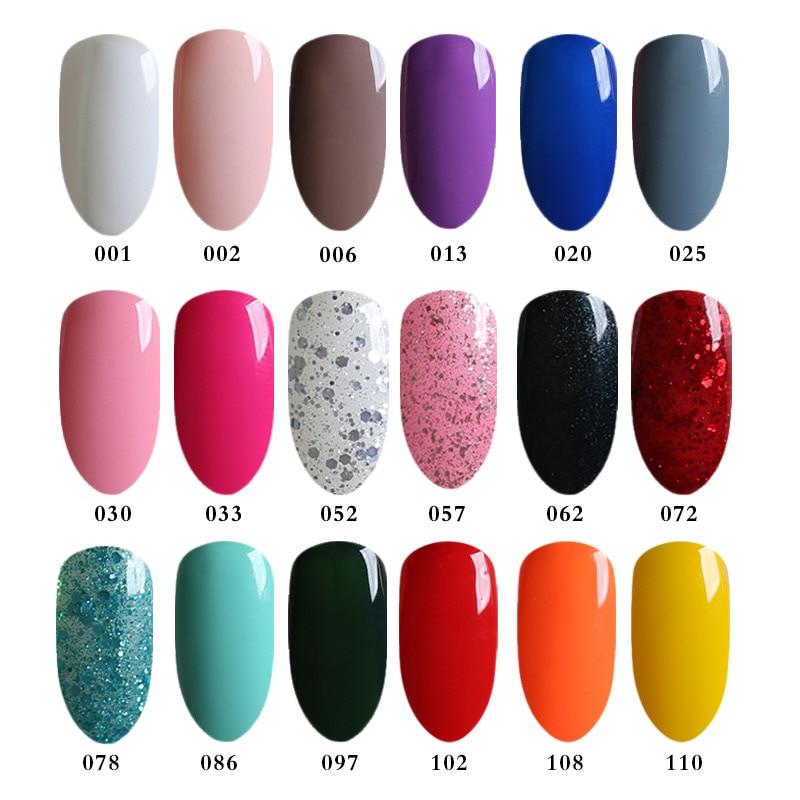 Шоколад Цвет гель для ногтей UV гель Лаки выдерживает-светодиодный коричневый ногтей гель эмаль без Стикеры Слои топ и базовый слой гель жив...