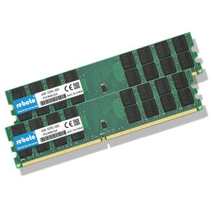 Reboto  8GB DDR2 2 X 4GB ram 800 Mhz PC2-6400 240Pin Memory just For AMD Desktop dimm