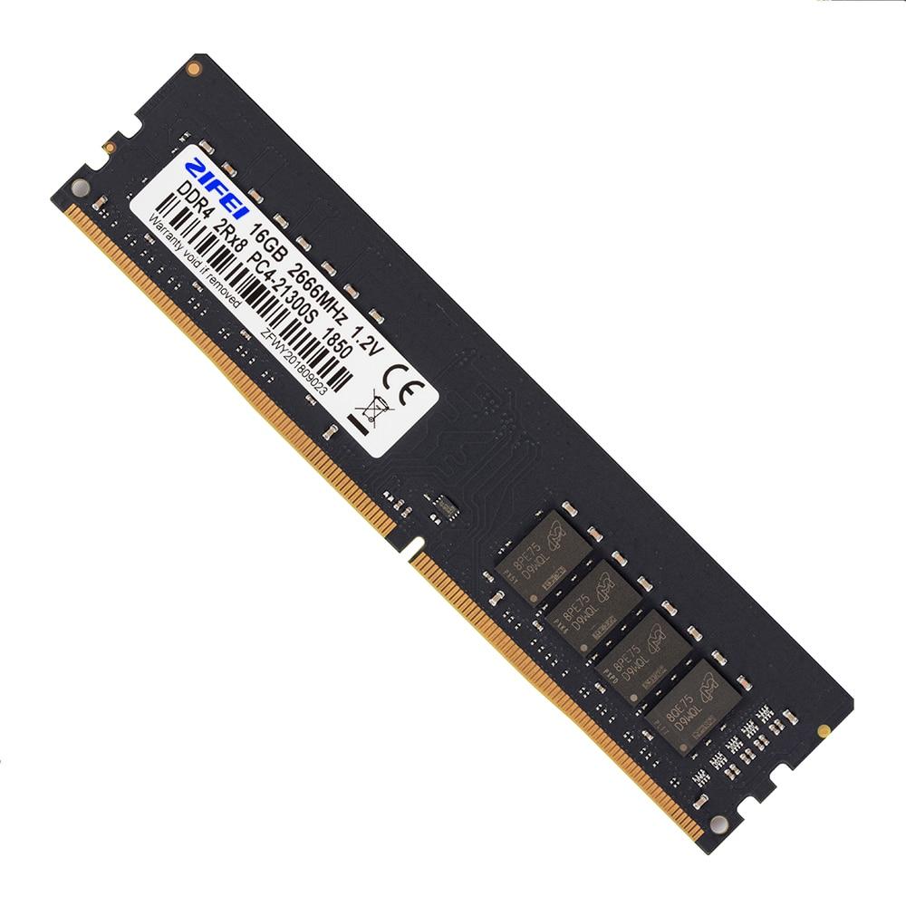 ZIFEI RAM DDR4 4GB 8GB 16GB 2400 MHZ 2133MHZ DIMM Motherboard Desktop Memory