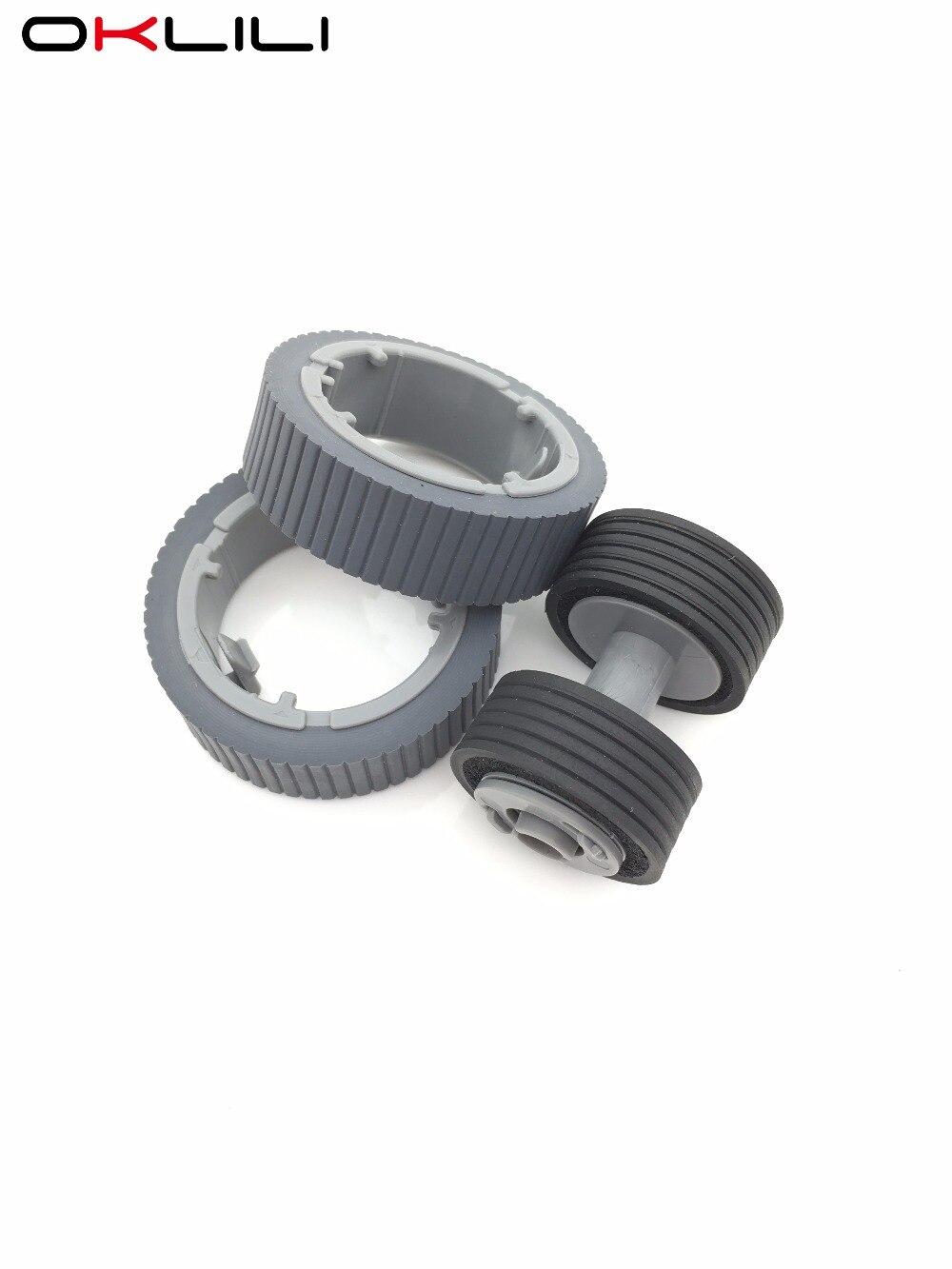 1SET PA03670-0001 PA03670-0002 Consumable Kit Pick Roller Brake Roller Pickup Roller for Fujitsu fi-7160 fi-7260 fi-7180 fi-7280 цена 2017