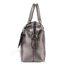 2018 Genuine Leather Boston Women Handbag Fashion Luxury Shoulder Bag Solid Zipper Women Pillow Bag Ladies Bag bolsos sac a main