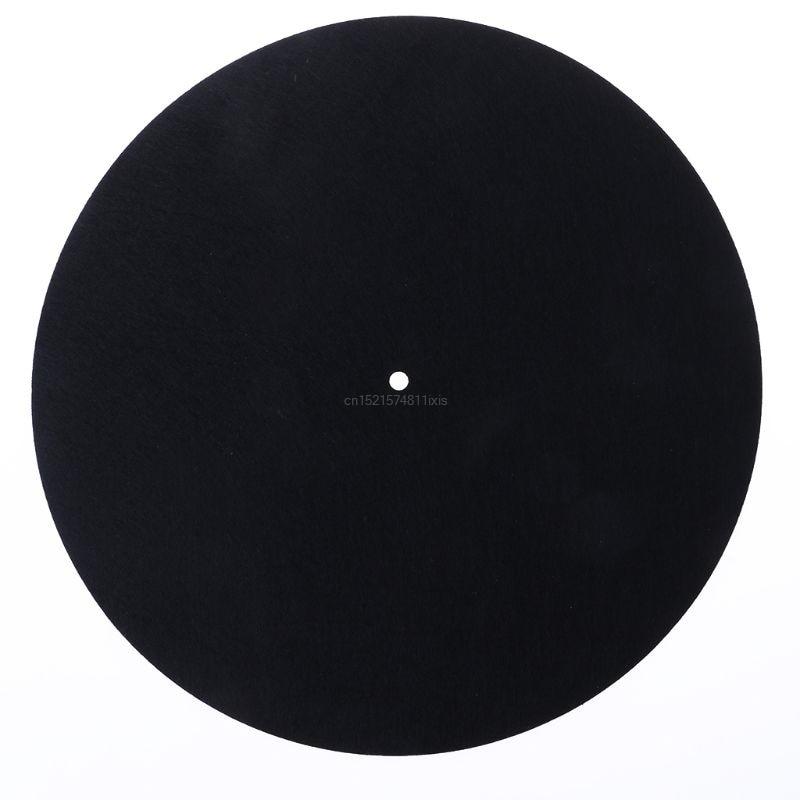 2018 New Felt Turntable Platter Mat LP Slip Mat Audiophile 3mm Thick For LP Vinyl Record