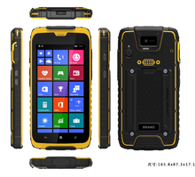 5.3 inch android 4.4 4G IP67 rugged phone, 4G Glonass rugged terminal