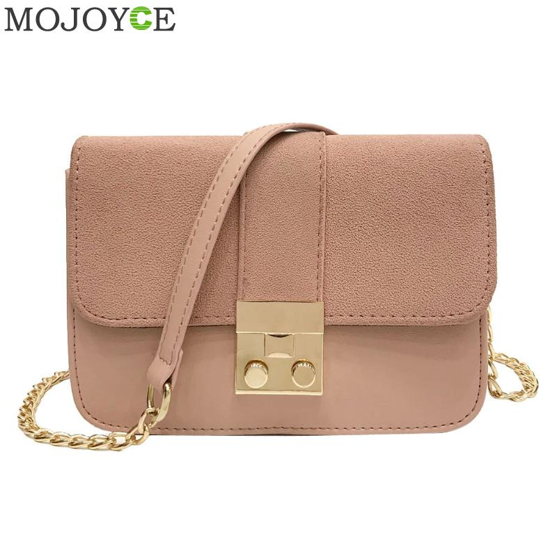 Women Messenger Bags Famous Brand Mini Shoulder Bags Matting PU Leather Handag Long Chain Crossbody Bag Female Mini Shoulder Bag emma yao women bag leahter shoulder bags famous brand crossbody bags
