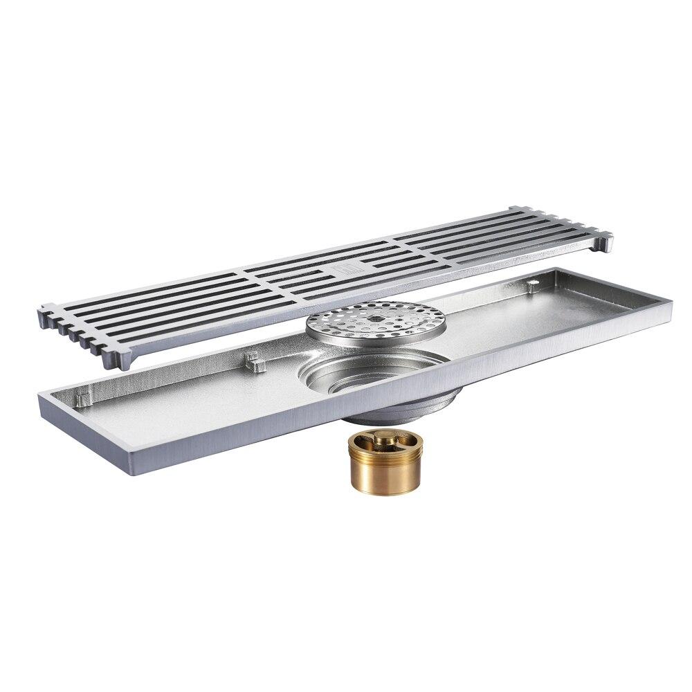 HIDEEP laiton Anti odeur sol Drain cuisine évier crépine classique Drains douche pour famille salle de bains sol Drains douche - 4