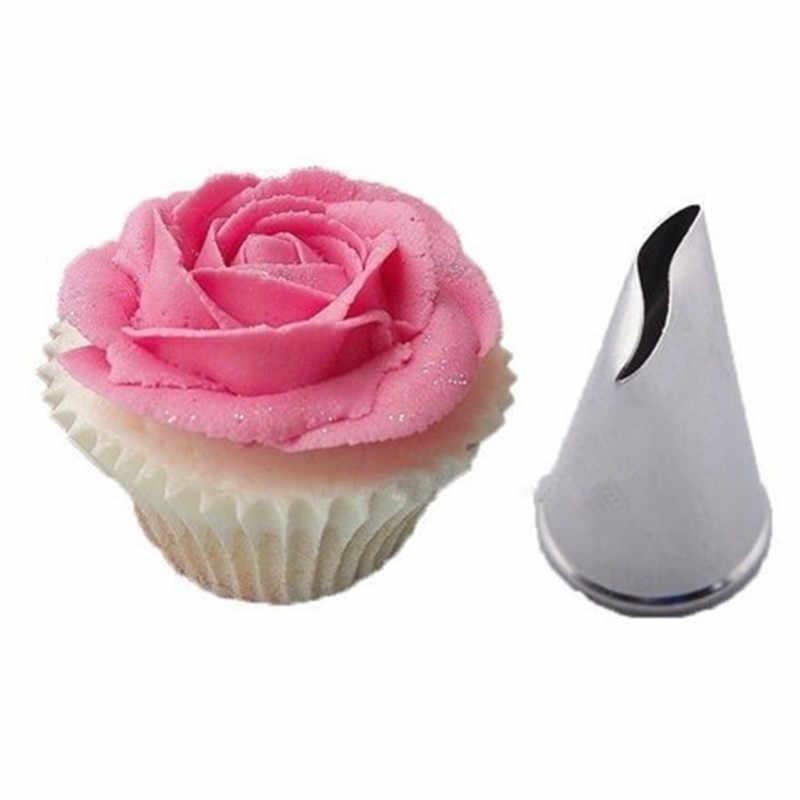 New 5 pcs Rose Petal Metal Cream Tips Cake Decorating Tools Steel Icing Piping Nozzles Cake Cream Decorating Cupcake Pastry Tool Decorating Tip Sets  - AliExpress