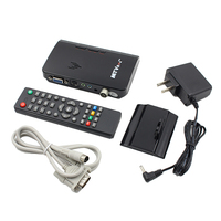 LCD VGA External TV PC BOX Digital Program Receiver Tuner 1080P HDTV Monitor US Plug for Projector DVD