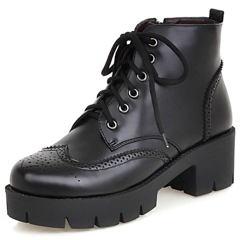 Online Get Cheap Platform Chunky Heel Boots -Aliexpress.com