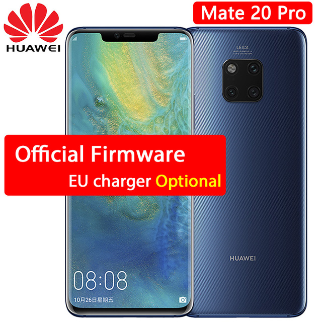 hot sale online 554e5 46093 US $827.99 |HUAWEI Mate 20 Pro Mobile Phone 6.39 inch Full Screen  waterproof IP68 40 MP 4 Cameras Kirin 980 octa core quick charger 10V/4A-in  Mobile ...
