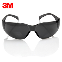 3M 11330 Safety Potective Black Goggles Glasses For Anti UV Sunglasses Anti Fog Shock Proof Working