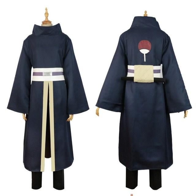 Obito Uchiha Cosplay Long Sleeves Black Cloak and Mask