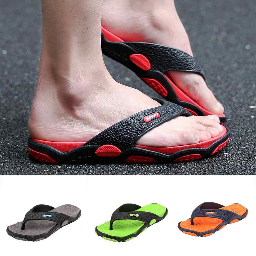 Verão chinelos de dedo do pé aberto chinelos moda praia massagem banheiro flip flops resh linha jovem contemporânea sh #0212y10