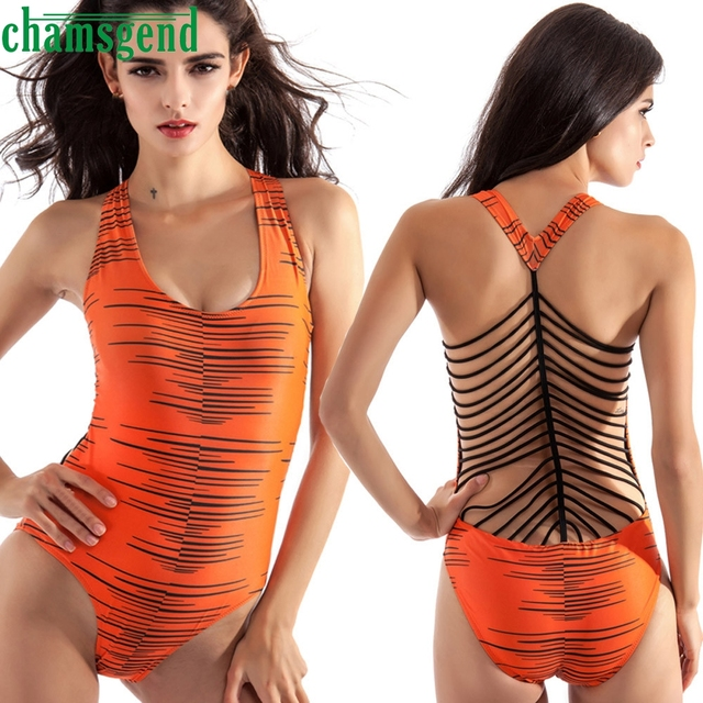 ea3fa3fd64 Low Back Thong Bodysuit Sexy Ladies Slim Bodycon Beach Cami Bodysuits 2017 Women  Scoop Neck Sleeveless Strap Bodysuit AU4b