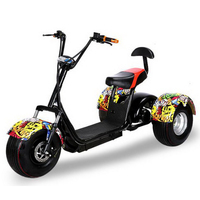 320626/New wide tires Harley electric car / three wheel scooter / three rounds of electric vehicles/Speed control handle