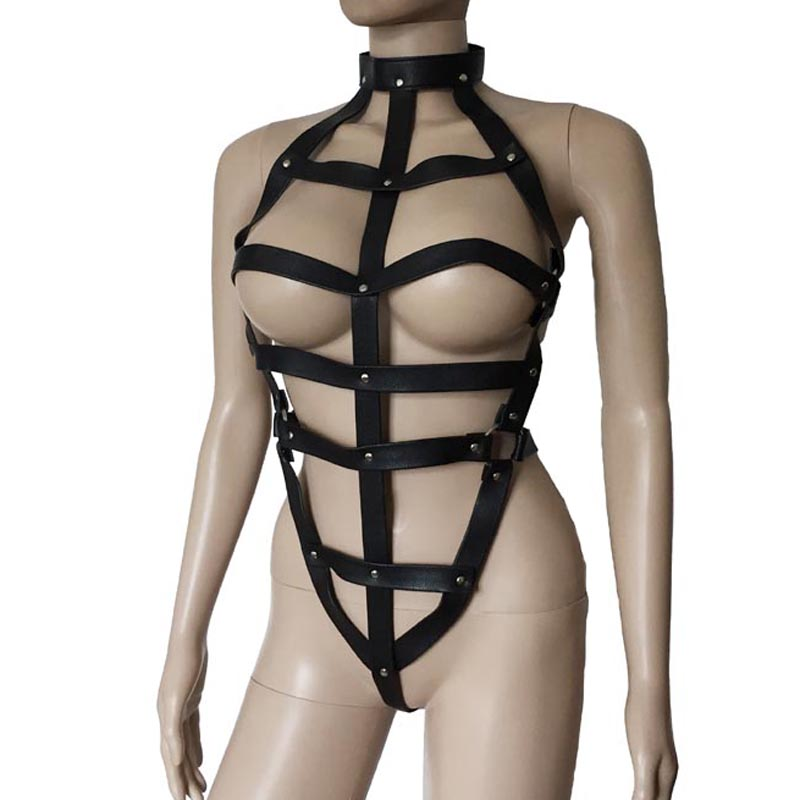 Leather Strappy Body
