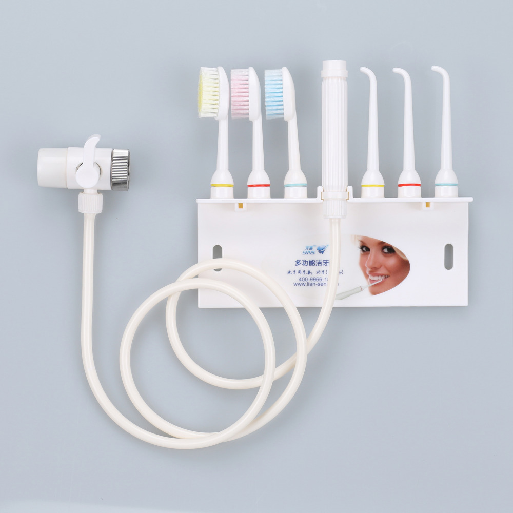 New  Oral Irrigator Dental SPA Teeth Cleaner Tooth Water Teeth Flossing Toothbrush Sets  3 water flossed jets + 3 Toothbrush pro teeth whitening oral irrigator electric teeth cleaning machine irrigador dental water flosser teeth care tools m2