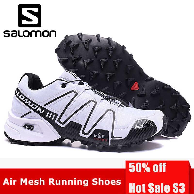 71f71bd2a8d4 Salomon Speed Cross 3 CS III Professional Outdoor Male Flywire Athletic  Sport Shoe Speed Cross 3