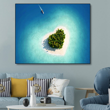 Love Tropical Island Posters and Prints Modern Canvas Painting Wall Artwork Picture For Living Room Home Decor