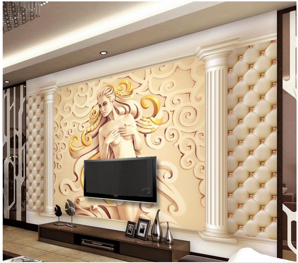 Enchanting Wall Decor Tv Background Crest - Wall Decoration Ideas ...