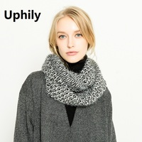 2017 Hot Sale Thick Warmer Ring Circle Neck Scarf Winter Scarf Infinity Scarves Warm Wool Knitted