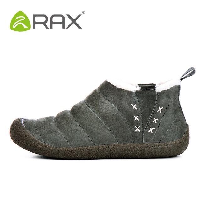 2018 RAX Männer Frauen Wandern Schuhe Warme Winter Im Freien Stiefel  Atmungsaktive Wanderschuhe Schuhe Schwein Leder 178c7e906e