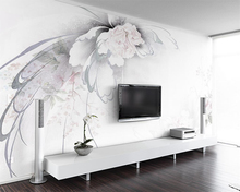 Beibehang Custom wallpaper elegant abstract floral European TV background wall home decor living room bedroom mural 3d wallpaper beibehang custom photo wallpaper for children s room large mural 3d tv background wall paper living room tv backdrop home decor