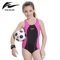 Children Swimming Clothes 2016 Girls Sports Swimsuit One Piece Swimwear For Kids Swimming Suit Quality Girls