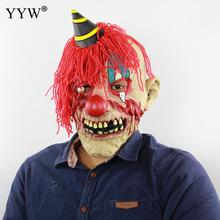 Clown Halloween Horror Mask Party Haunted Dress Mascaras Man Maske Bloody Scary Head Masks Festive Masque Accessories