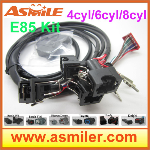 e85 conversion kit 6cyl (plastic case)-- Cold Start Asst, flex fuel, kit ethanol e85, superethanol DHL free price e85 ethanol car conversion kit with 4cyl dhl ems free price from asmile