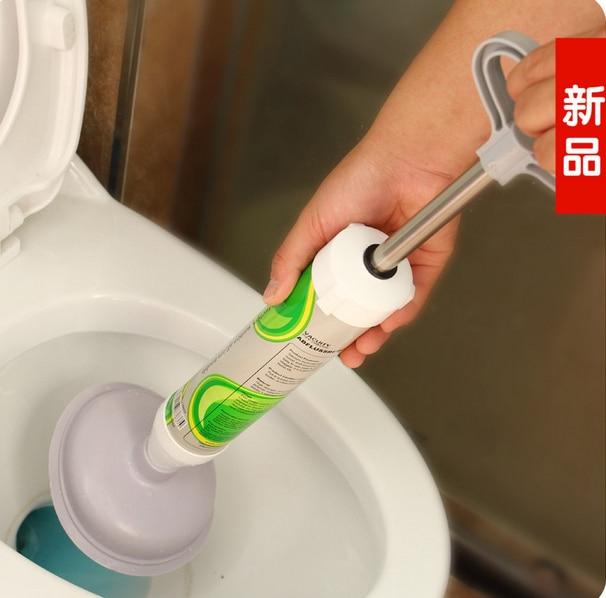 Clogged Toilet Unclog Toilet Plungers Closestool Dredge Bathroom Home Garden Bath Accessories