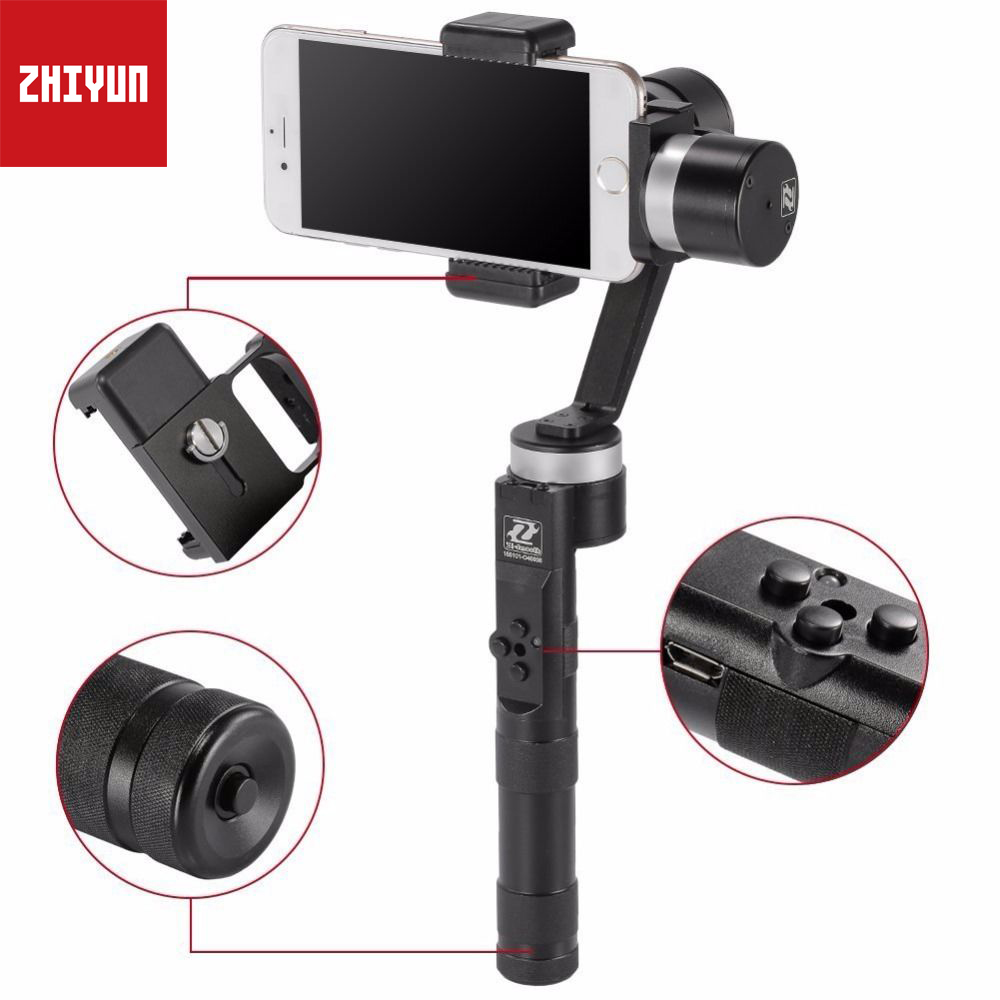 Zhiyun Z1-Smooth-R Devided Version 3 Axis Smartphone Phone Gimbal Stablizer Tripods for iPhone 7 8 Plus X Cellphone under 7 Inch lucky 4pcs lot 40inch letters love foil balloons valentine s day balloon air inflatable letter balloon wedding party decoration