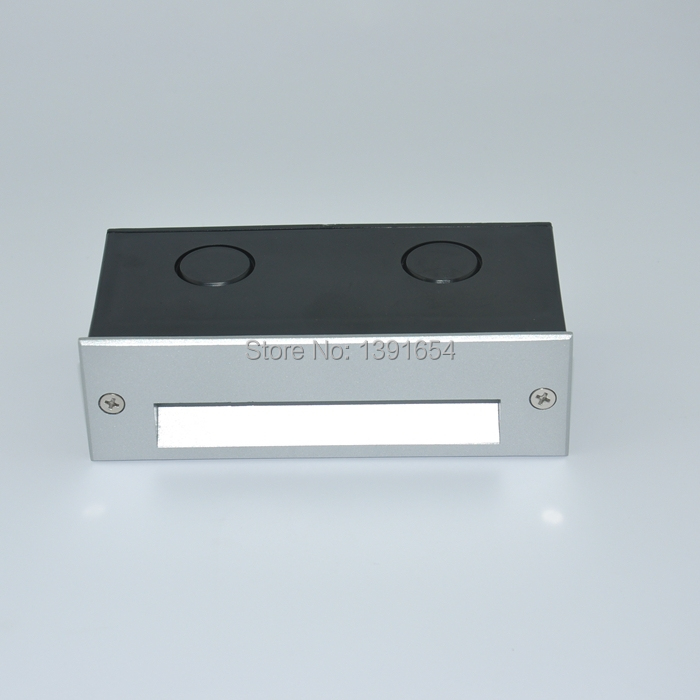 High Quality CE ROHS AC85-265V 1.8W Outdoor LED Step Light Wall Recessed Light IP65 Frosted Glass ...