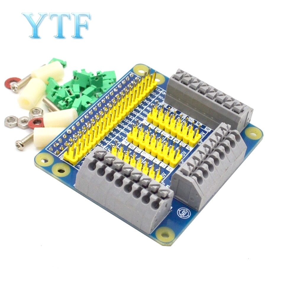 GPIO Expansion Board Raspberry Pi Shield For Raspberry PI 2 3 B B+ With Screws For Raspberry Pi 3 Model B Diy Kit